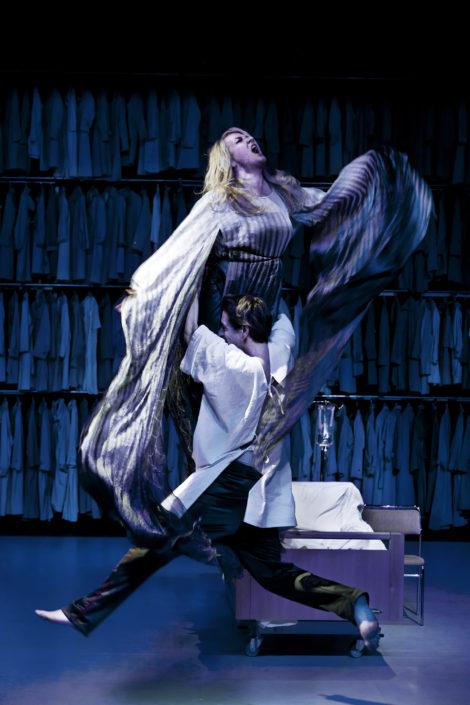 Lena B Eriksson Ola Rapace Angels in America Kulturhuset/Stadsteatern
